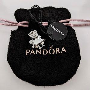 Limited Edition Pandora Floral Bella Bot Charm